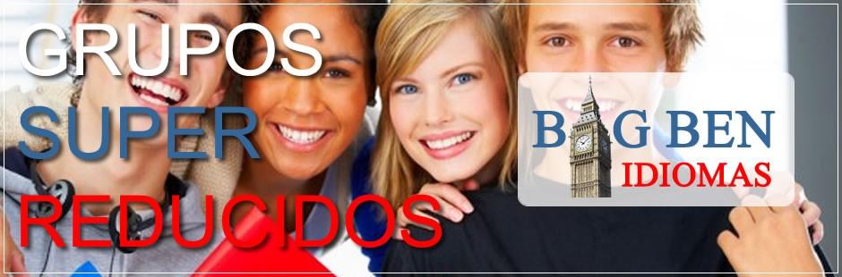 Grupos SUPER REDUCIDOS - idiomas BIG BEN